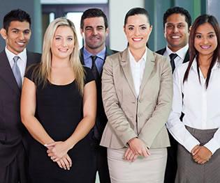 Group of smiling Realtors®