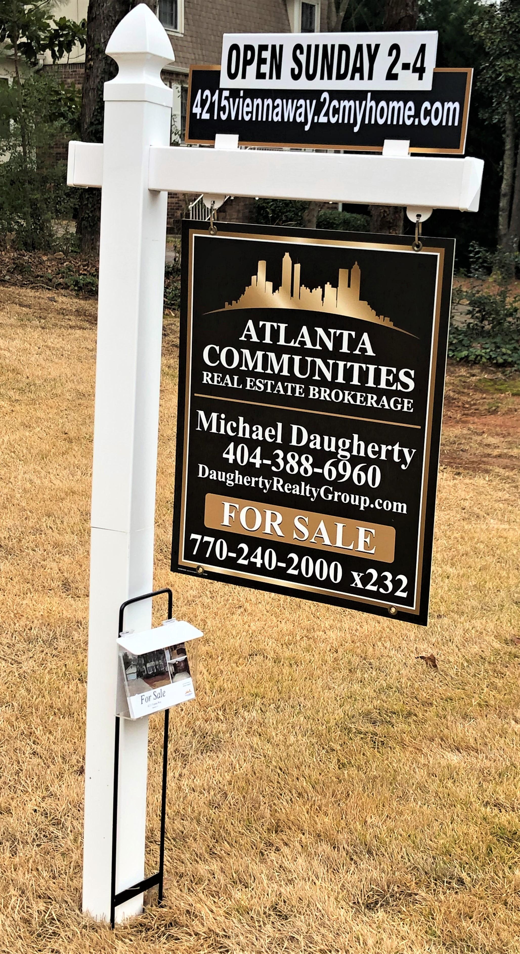 DAUGHERTY, MICHAEL: Yard sign.jpg