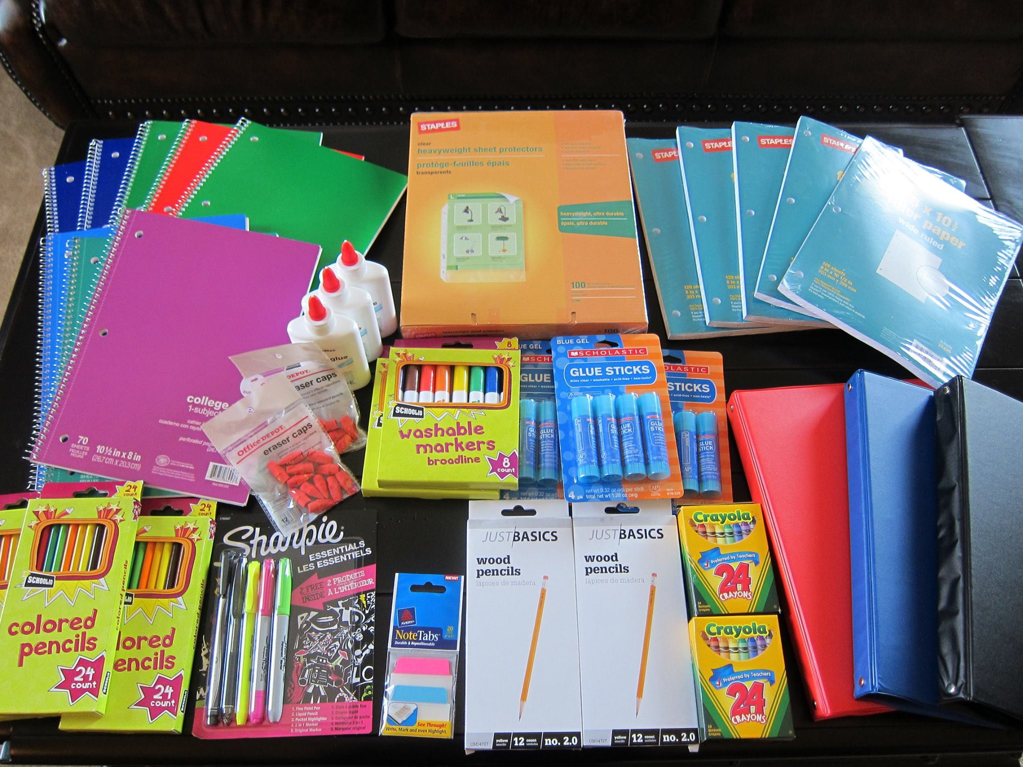 KRUDWIG, MELISSA: school supply drive 3.jpg